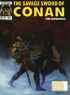 Fine condition, and touch Read More for grading details for this Savage Sword of Conan comic book, Savage Sword of Conan series) by Marvel comics, and to knock down the total for this Savage Sword of Conan comic, touch Read More. Marvel Comics, Ben 10 Comics, Conan Comics, Comic Book Artists, Comic Book Characters, Comic Books, God Of War, Tolkien, Conan O Barbaro