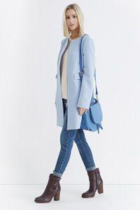 Sixties Collarless Coat
