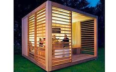 Luxury Garden Shed Designs – compact sheds for work and play . Luxury Garden Shed Designs – compact sheds for work and play How to Sel. Shed Office, Garden Office, Backyard Office, Outdoor Office, Backyard Ideas, Shed Design Plans, Shed Plans, Outdoor Rooms, Outdoor Living