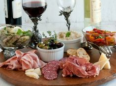 Great Party Appetizer - Antipasto Platter easy to put together something for everyone