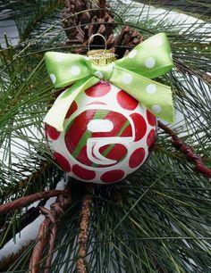 cute personalized ornament