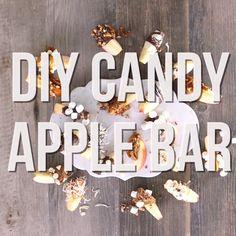 DIY Apple Dip Bar - Candy Apples