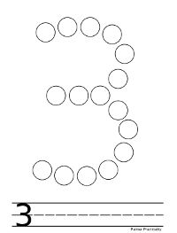 Palmer Practicality: Do a Dot Printables- Numbers Writing Activities For Preschoolers, Preschool Craft Activities, Numbers Preschool, Learning Numbers, Numbers 1 10, Do A Dot, Printable Numbers, Creative Curriculum, Pre Writing