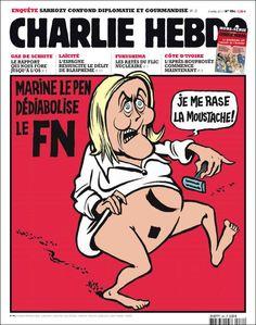Les propos de @MLP_officiel sur la marche républicaine sont minables ! Le #FN n'y a pas sa place. #JeSuisCharlie Fukushima, Front National, Marine Le Pen, Thumbnail Design, Charlie Hebdo, Non Sequitur, Jokes, Twitter, Journal
