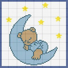 Our Cross Stitch! Cross Stitch Owl, Baby Cross Stitch Patterns, Cross Stitch For Kids, Cross Stitch Animals, Cross Stitch Charts, Cross Stitch Designs, Cross Stitching, Cross Stitch Embroidery, Crochet Patterns