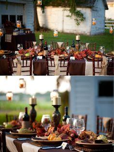elegant thanksgiving table decorations | thanksgiving-tablescape-ideas-party-table-decorations-dinner-crafts ...