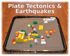 Plate Tectonics and Earthquakes (Hands-on activities and video demonstration) - http://susanevans.org/blog/plate-tectonics-and-earthquakes/