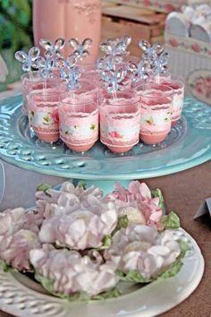 Pastel Garden themed birthday party via Kara's Party Ideas KarasPartyIdeas.com Cake, decor, favors, supplies, cupcakes, and MORE! #gardenparty #karaspartyideas (15)