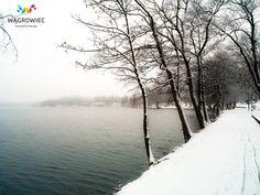 Jezioro Durowskie zachwyca niezależnie od pory roku! :) #wagrowiec #wielkopolska #polska #poland #wągrowiec #jeziorodurowskie #lake #zima #winter #snow #śnieg Fot. Łukasz Cieślak