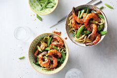 This hot and spicy stir-fry comes together faster than ordering takeout. It's also a great way to use up any veggies lingering in your fridge. Serve it over your favourite noodles, brown rice or whole grains.