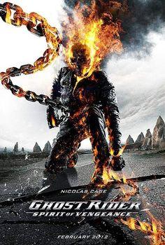 1712 Ghost Rider Spirit Of Vengeance BluRay Nicolas Cage Ghost Rider 2 Movie, Ghost Rider Johnny Blaze, Ghost Rider Marvel, Films Marvel, Marvel Dc, Marvel Cinematic, Captain Marvel, Nicolas Cage, Gost Rider