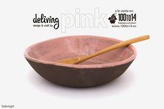 deliving design & craft: Nuestra colección PINK para 100to14 #ceramic #craft #handmade #design