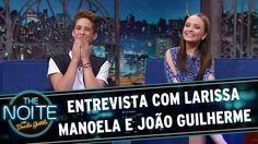 The Noite (10/03/16) - Entrevista com Larissa Manoela e João Guilherme
