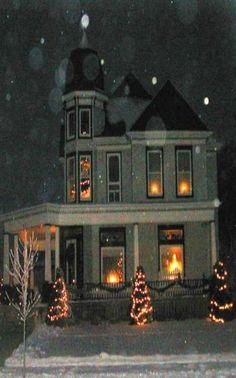 Christmas At Old Farm House