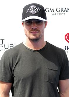 Actor Stephen Amell attends the 2012 iHeartRadio Music Festival pool party at the Wet Republic pool at the MGM Grand Hotel/Casino on September 22, 2012 in Las Vegas, Nevada.