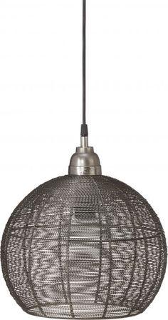Taklampa Havanna i råsilver designad av prhome gjord av metall - PR Home Pendant Lamp, Ceiling Lights, Lighting, Design, Swag Light, Hanging Pendants, Lights, Outdoor Ceiling Lights