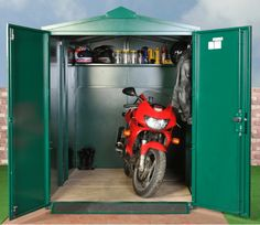 Our Motorcycle Garage is an approved secure motorcycle storage unit for your motorbike or cycles.