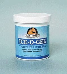Hawthorne Products Ice-O-Gel Tightner/Frze 16oz by Hawthorne Products. $8.99. This is a tightener and freeze that aids in the treatment of tendon and ligament problems.. Relieve minor stiffness and soreness caused by over-exertion. Cool and tightens the leg at the same time, causes little or no scufing.