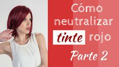 Esta ocasión te diremos cómo neutralizar tinte rojo cuando quieres oscurecer el cabello. Dyed Hair, Salons, Hair Color, Tips, Beauty, Hair, Hair Color Streaks, Red Hair Colour, Hair Color Formulas