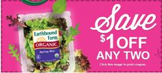Earthbound Farm Organic Coupon - Save $1 - http://www.livingrichwithcoupons.com/2013/07/earthbound-farm-organic-coupon-save-1-done-2.html