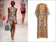 Missoni caftan from Spring 2013 collection