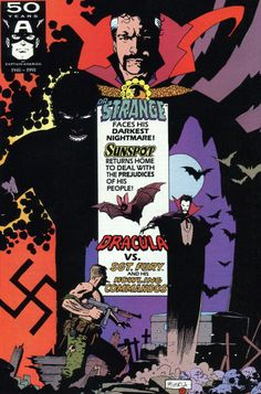 Marvel Comics Presents # 79 by Mike Mignola Comic Book Artists, Comic Book Characters, Comic Artist, Comic Books Art, Marvel Comics Art, Horror Comics, Book Cover Art, Comic Book Covers, Dark Horse Comics