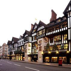 Interiors Addict's London Design Guide Visit Uk, London Shopping, London Guide, London Christmas, Weekends Away, Liberty Of London, Retail Design, Exterior, Mansions