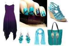 Style zum Outfit Rebecca Bonbon Lack -