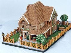 Totally Adorable Christmas Gingerbread House Decoration Ideas22