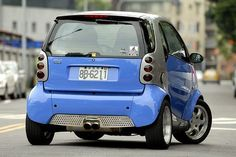 Smartcar ForTwo Dual Exhaust