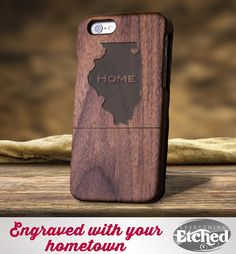 Engraved iPhone Case – State Phone Case