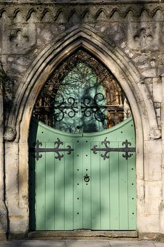 Day 8 of 365 : Green Church Door With Shadows   Flickr - Photo Sharing!