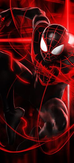 Miles Morales Mobile Wallpaper by TheBJO13 on DeviantArt