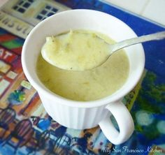 A quick, easy and healthy soup made with fresh asparagus, potatoes, onion, celery and cream. Makes a great vegetarian dish or side to any dinner recipe!