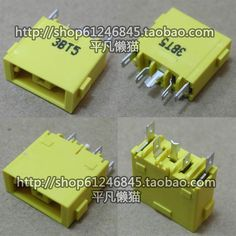 Free shipping For Lenovo square mouth G400 G490 G500 G505 Z501 YOGA13 X1 and other side port power connector single head