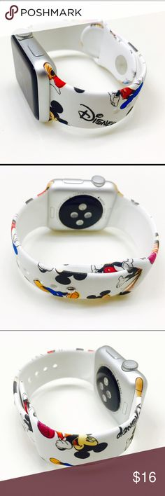 38mm Disney Apple Watch Band (S/M) Brand new 38mm Disney Apple Watch Band (Watch is not included) Great Gift for your friends and Love ones !!! Disney Accessories Watches