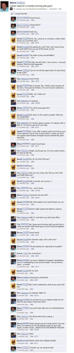 The Best And Most Convoluted Knock Knock Joke Ever
