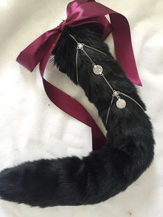 Decorative Chain Tail Kitten Play Add On by KittenEnchantment