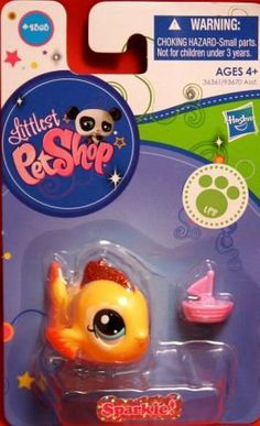 Littlest pet shop new rainbow panda 2584 pet shop for Fish and more pet store