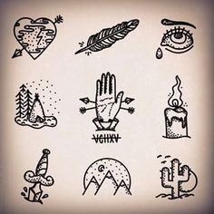 stick and poke - Buscar con Google More