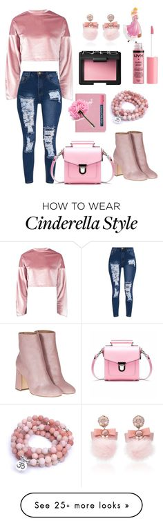 """""""Untitled #50"""" by s-seyidova on Polyvore featuring Boohoo, Laurence Dacade, Ranjana Khan, NARS Cosmetics and Charlotte Russe"""