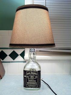 Jack Daniels Lamp.
