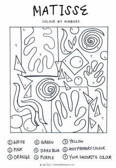 Henri Matisse, Matisse Kunst, Matisse Art, Matisse Cutouts, Middle School Art, Art School, High School, Primary School Art, Programme D'art