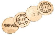 Gold Embossing Labels