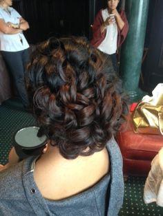 updo, wedding hair, bride, curls