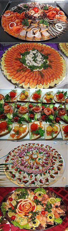 La formalización de los cortes a la mesa de Año Nuevo. Party Platters, Cheese Platters, Canapes Faciles, Fruit Art, Empanadas, Food Design, Finger Foods, Christmas Cookies, Buffet