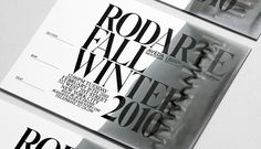 li, inc. for rodarte / invites hand-dipped with wax