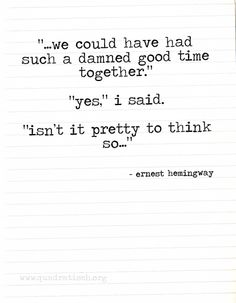 isnt it pretty to think so isn t it pretty to think so by ernest hemingway like 9027