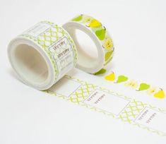 Pears & To-Do List Washi Tape – Maigo