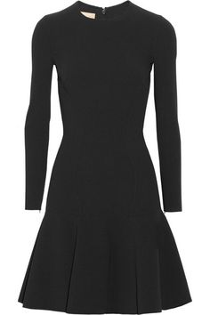 Flared stretch-wool dress. I like the silhouette this dress creates